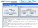 recovery power failure