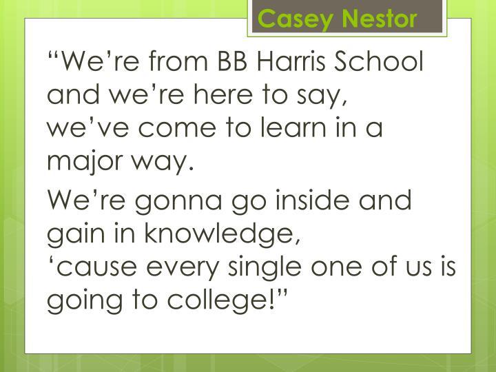 Casey Nestor