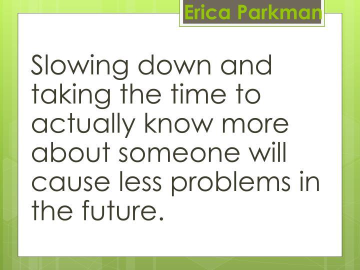 Erica Parkman