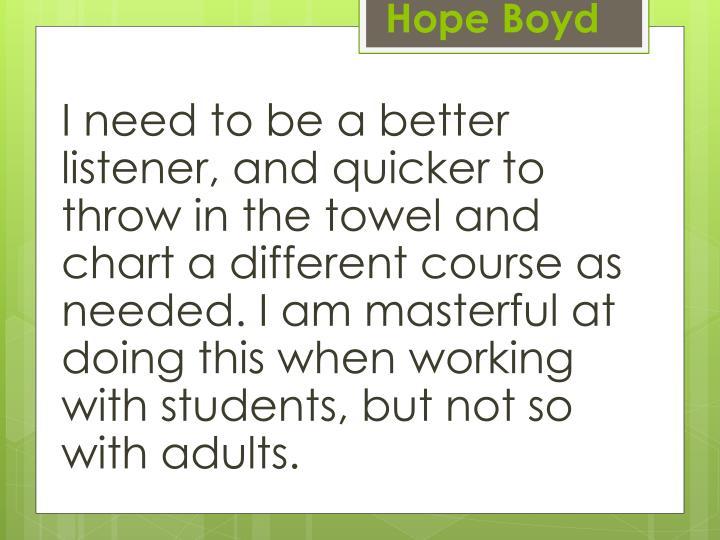 Hope Boyd