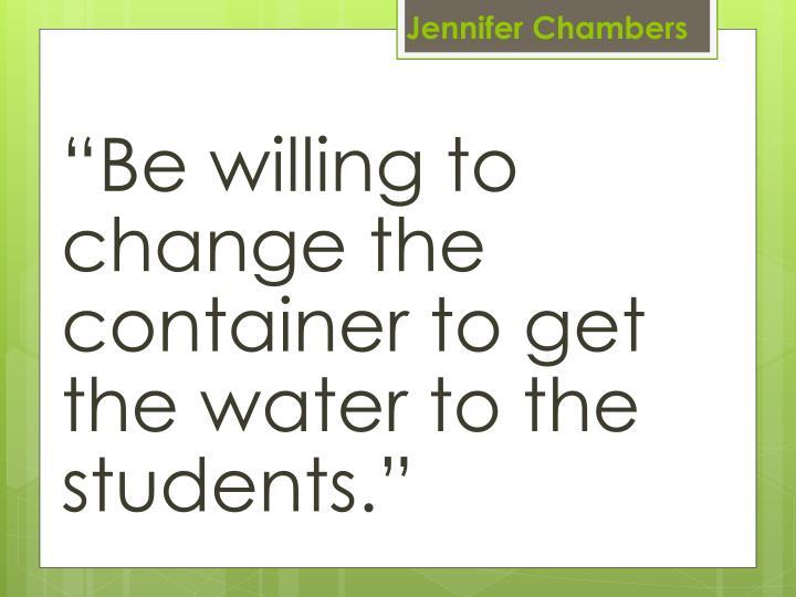 Jennifer Chambers