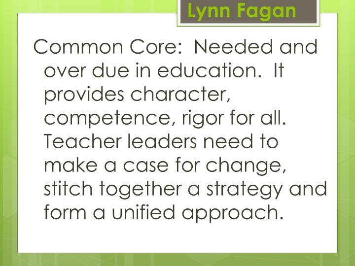 Lynn Fagan