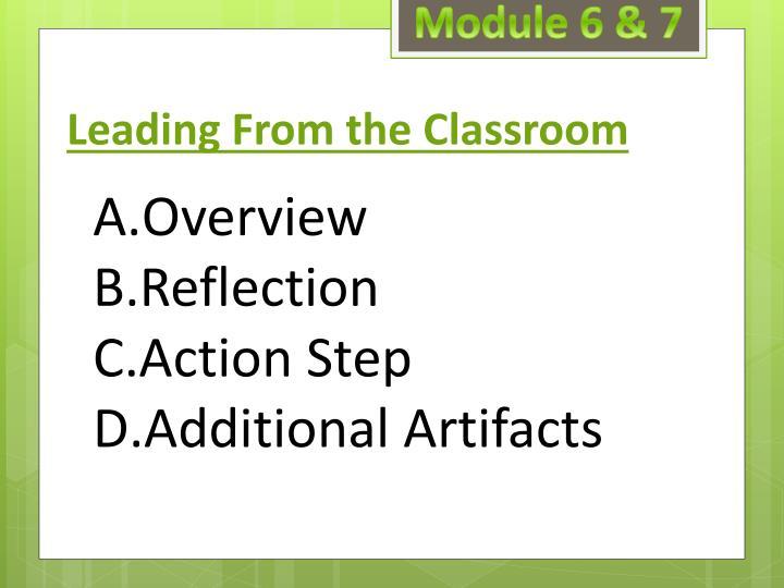 Module 6 & 7