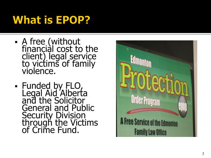What is epop