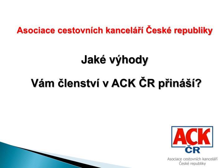 Asociace cestovních kanceláří České republiky