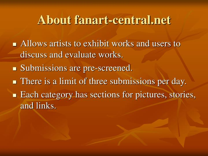 About fanart-central.net