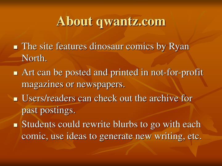 About qwantz.com