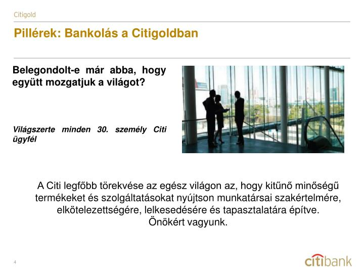 Pillrek: Bankols a Citigoldban