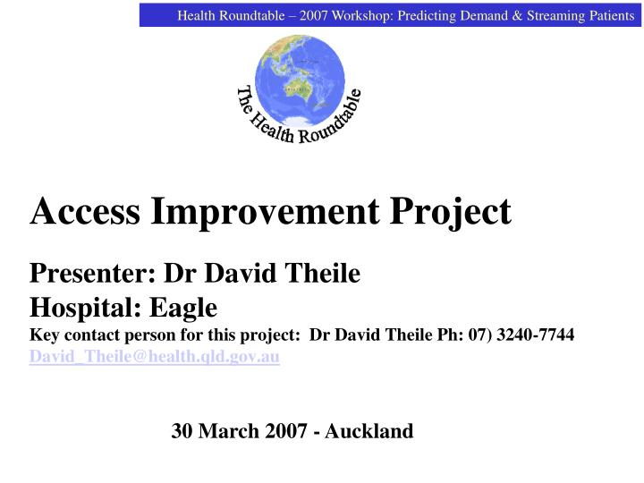 Access Improvement Project