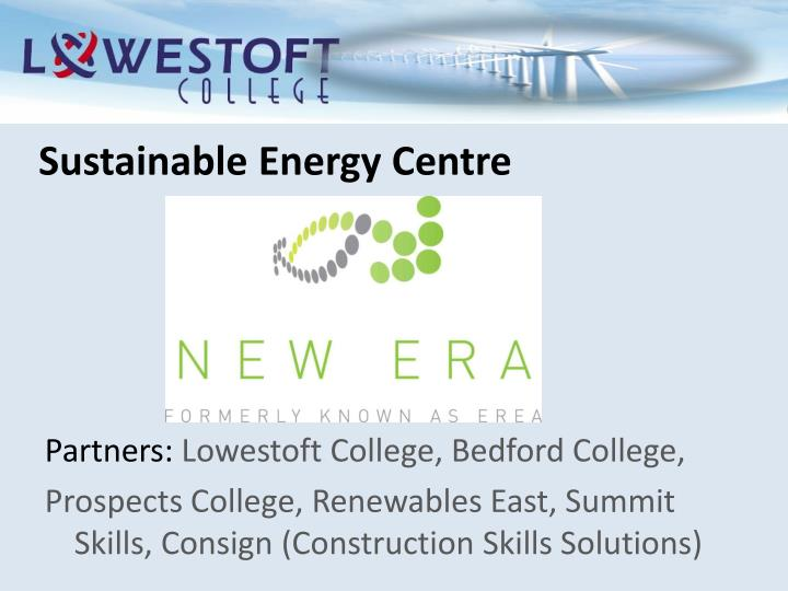 Sustainable Energy Centre