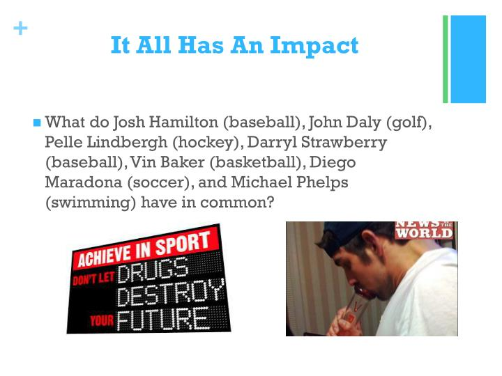 It All Has An Impact