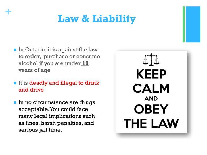 Law & Liability