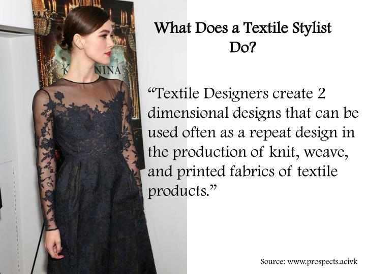 What Does a Textile Stylist Do?