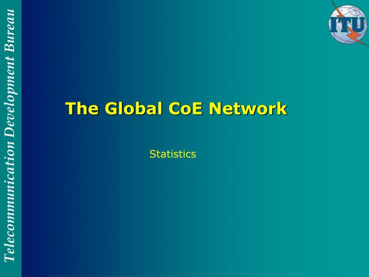 The Global CoE Network