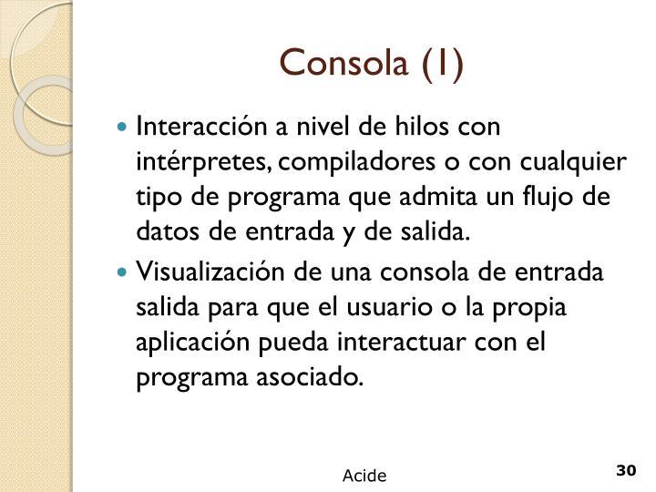 Consola (1)
