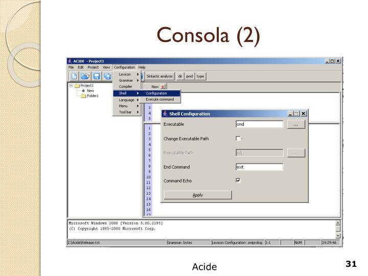 Consola (2)