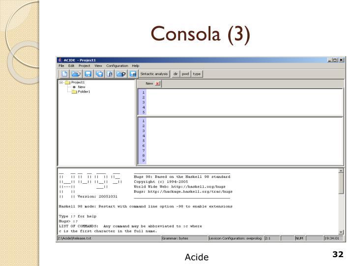 Consola (3)