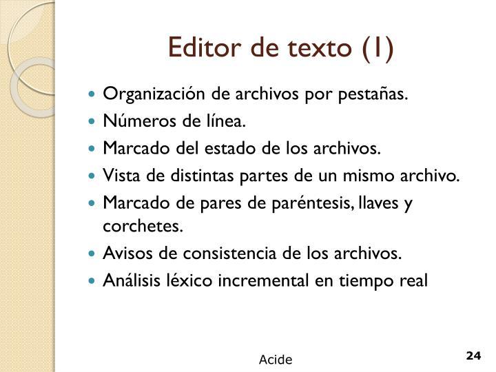 Editor de texto (1)