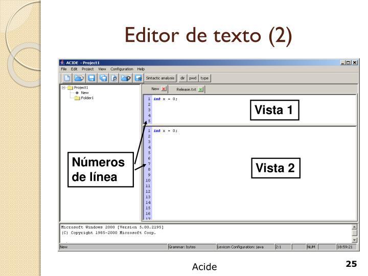 Editor de texto (2)