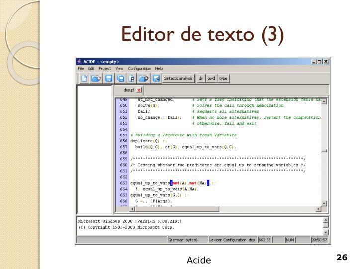 Editor de texto (3)