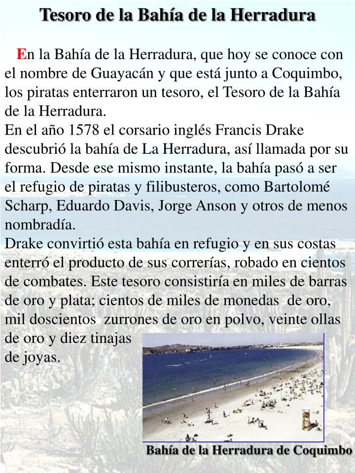 Tesoro de la Bahía de la Herradura