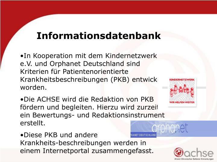 Informationsdatenbank