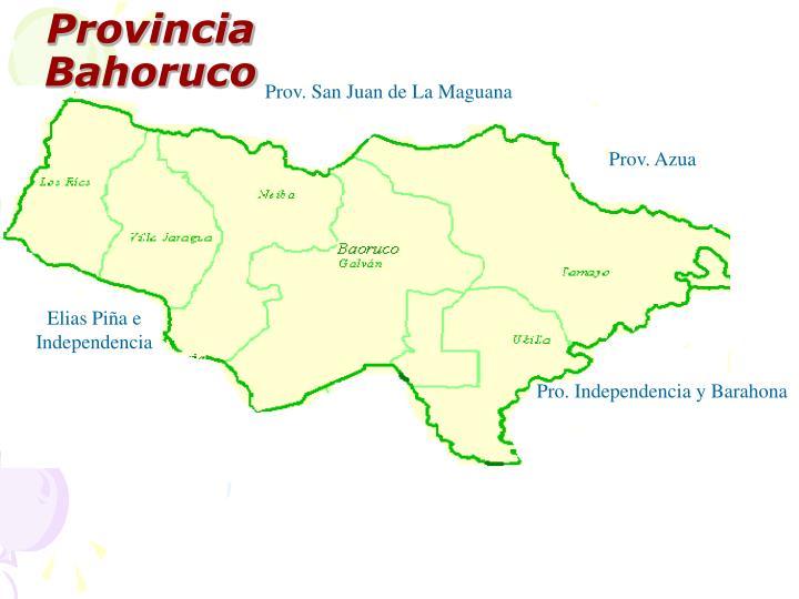 Provincia Bahoruco