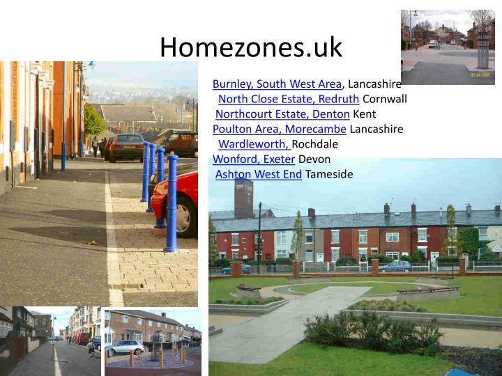 Homezones.uk