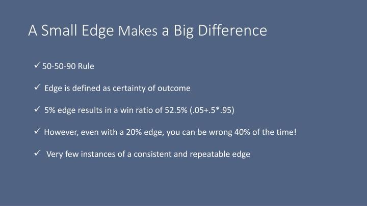 A Small Edge