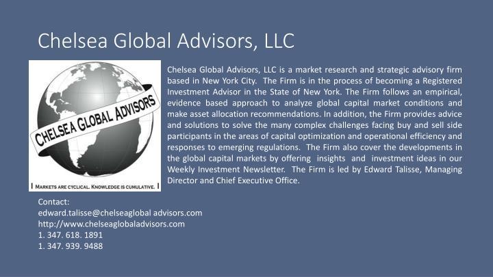 Chelsea Global Advisors, LLC