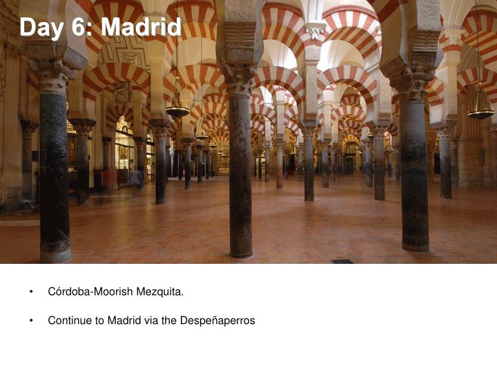 Day 6: Madrid