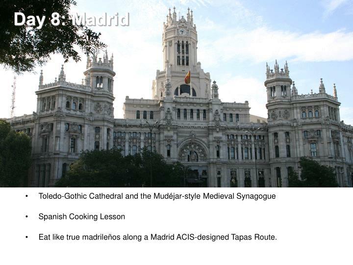 Day 8: Madrid