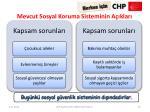 mevcut sosyal koruma sisteminin a klar2
