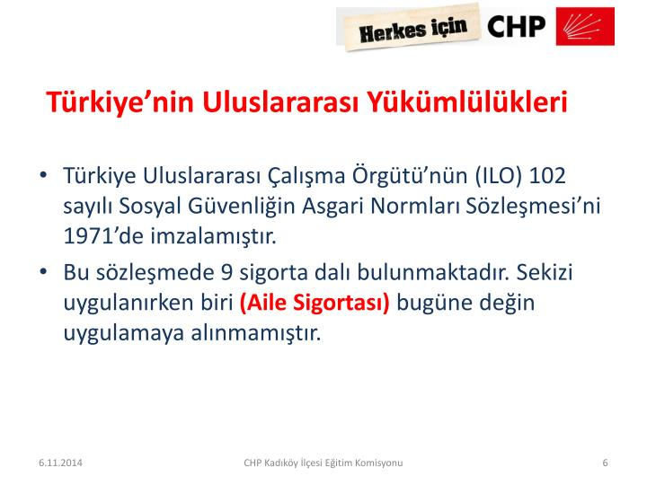 Türkiye'nin Uluslararası Yükümlülükleri