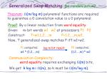 generalized swap matching de randomization1