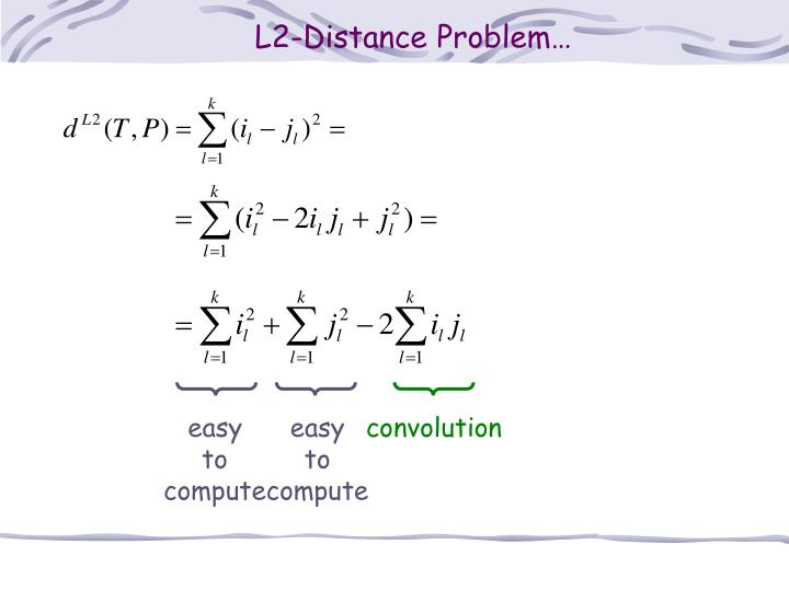 L2-Distance Problem…