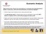 economic analysis o