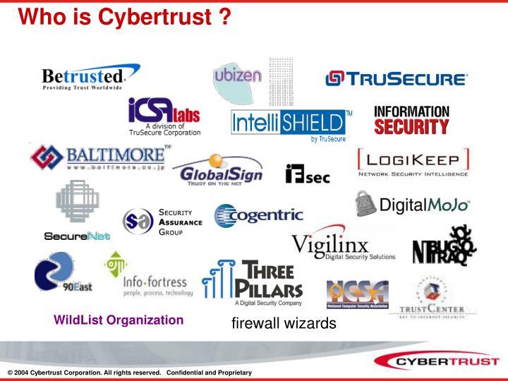 Who is Cybertrust ?