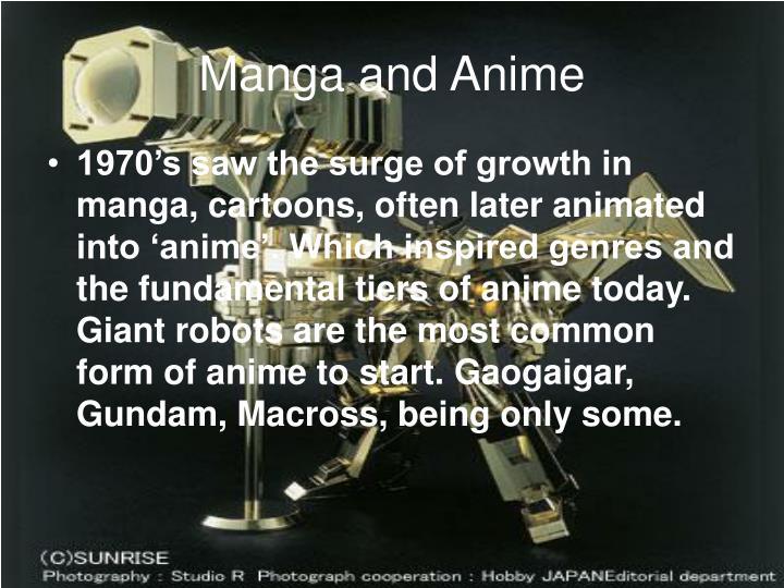 Manga and Anime