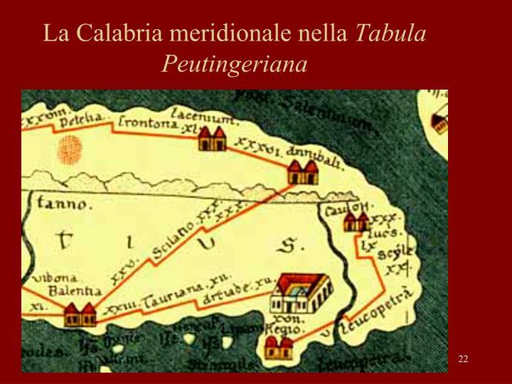 La Calabria meridionale