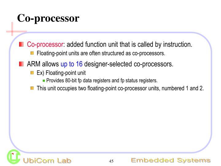 Co-processor