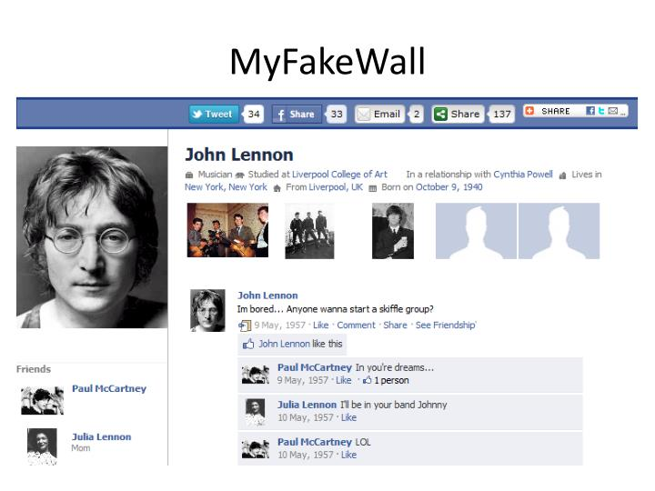 MyFakeWall