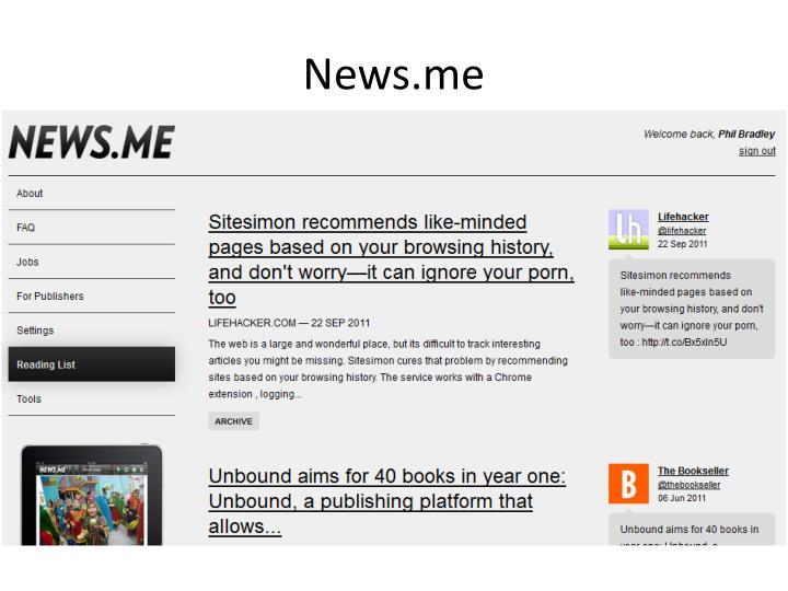 News.me