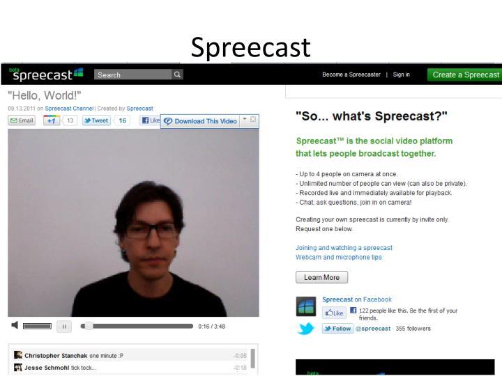 Spreecast