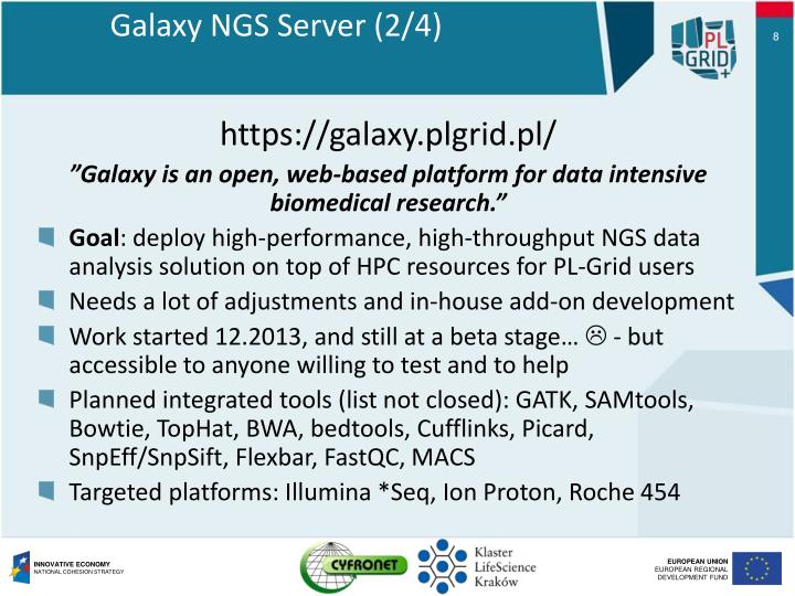 Galaxy NGS Server (
