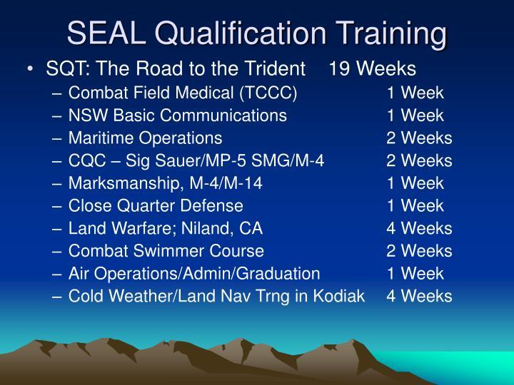SEAL Qualification Training