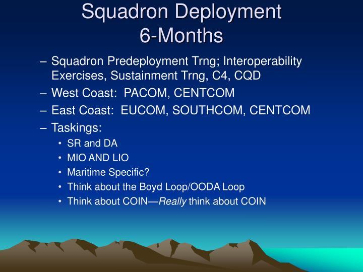 Squadron Deployment