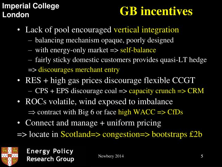 GB incentives
