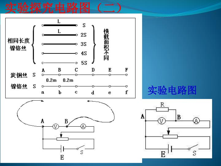 实验探究电路图(二)