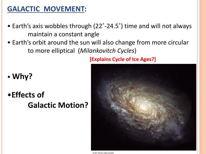 GALACTIC  MOVEMENT